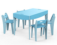 EAZE - Educational Furniture Set