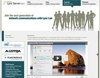 Microsoft Lync Website