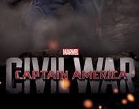 Captain America: Civil War Custom Promo Poster Series