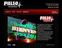 Desarrollo web PULSO RESTOBAR