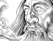 Icons&Legends - Gandalf Smoking Pipe