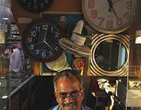 Abu Baker - watch repairer