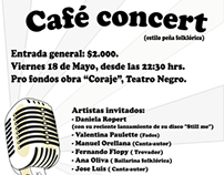 Café concert Universidad Mayor, escuela de teatro