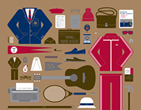 Wes Anderson | Limited Edition Movie Parts Poster