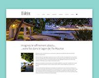L'ilot - Website Design
