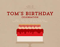 TOM's Birthday Celebration