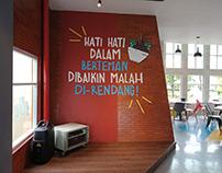 Cafe Hoax Interior Design