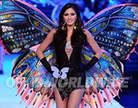 Miss Resorts World Manila 2012 : Butterfly wings
