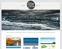Responsive WordPress Template - Elbow Room Design