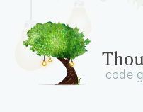 Thoughtful Tree Software Logo Design