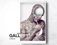 Gallery Rick Genest. (projet amateur)