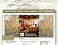 Website U.I. Design - Inn on the Alameda