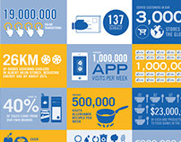 Ahold in 2013 infographic