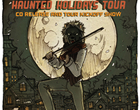 Violin Monster Haunted Holidays Tour