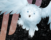 "Deftones ""Snow Owl"" Poster"