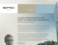 EPIC Tower Website, Branding, and Logo Design