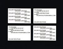 Delany Boutkan identity + website