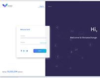 Log in/sign up design