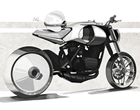 Motorcycle Sketches Vol.I