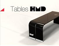 Design tables HMD