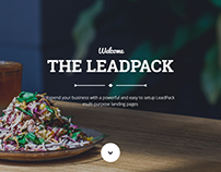LeadPack - Restaurant Landing Page
