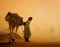 Desert Painting