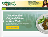 Yummies to go, Inc. HTML website project
