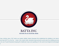 BATTA INC WEBSITE Landing Page Design