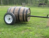 50 gallon barrel trailer
