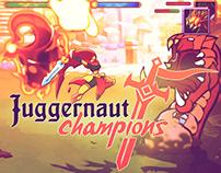 "2D ANIMATION FOR ""JUGGERNAUT CHAMPIONS"""
