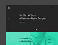 My Portfolio Web Concept