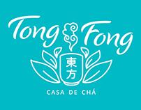 Marca e cardápios - Tong Fong: casa de chá