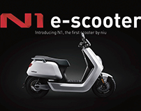 N1 E-Motobike Designed Beijing Niu Technology Co.,Ltd