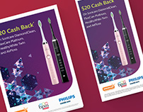 Philips Sonicare Christmas cash-back AU/NZ 2014
