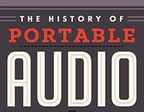 Portable Audio Infographic