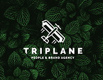 Triplane: People & Brand Agency - Logo (WIP)