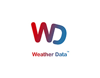 """Weather Data"" logo and exempls"