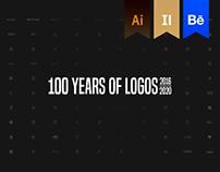 100 Years of Logos