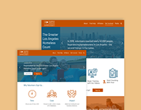Web Design: Los Angeles Homeless Services Authority