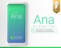 Ana El Algoritmo / Young Golds El Dorado - PNUD