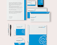 Visual identity / Concussions Speak / contest winner