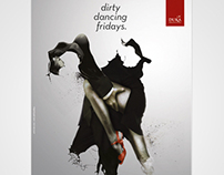 Dirty dancing Fridays poster