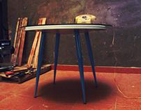 Dish table