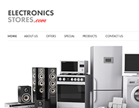 Electronics Stoe E-Commerce Mockup