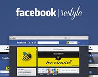 Facebook restyle