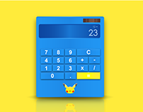 Pokemon | Calculatrice Design