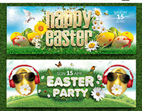Easter Facebook Covers