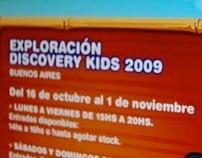 Web Evento - Exploración Discovery Kids 2009
