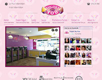 Yogurt By You Joomla! Website Project