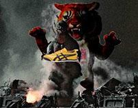 Onitsuka Tiger sneaker advertisement